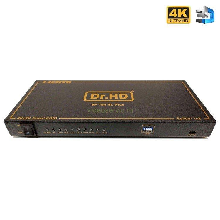 HDMI сплиттер 1x8 / Dr.HD SP 184 SL Plus